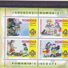 Cercetasii Romaniei  2005 colita 1686b .