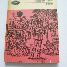 POEZII FRANCOIS VILLON - Carte poezie