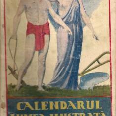Calendarul Lumea Ilustrata - 1921 - Almanah