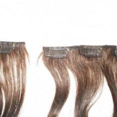 Meșe păr 100% natural, șaten - Extensii par
