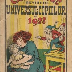 Calendarul revistei Universul Copiilor - 1928 - Almanah
