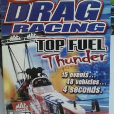 Drag Racing Top Fuel Thunder sigilat (PC DVD) (ALVio) + sute de alte jocuri pc, Curse auto moto, 12+