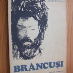 BRANCUSI --Nina Stanculescu -- [ 1981, 164 p. cu imagini in text; dedicatie si autograf autor ] - Carte sculptura