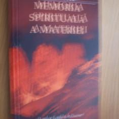 MEMORIA SPIRITUALA A MATERIEI  --  EDGAR CAYCE --  2004, 238 p.