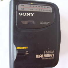 Walkman SONY, WM-FX103 - Casetofon