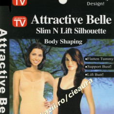 "BODY SHAPING "" ATTRACTIVE BELLE"" SLIM N LIFT SILHOUETTE AS SEEN ON TV CORSET DAMA SLABIT/ SLABIRE / INGUSTARE / SUBTIERE FORME TALIE BURTA ARIPIOARE"