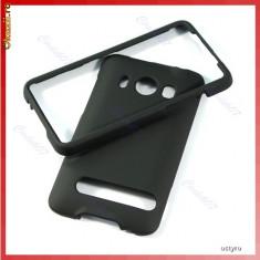 CARCASA HTC EVO 4G - CARCASA POLICARBONAT HTC EVO 4G - BLACK - CARCASA FULL BODY - FATA + SPATE - HTC EVO 4G - PROTECTIE COMPLETA