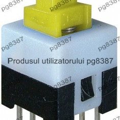 Push buton 8x8 mm, fara retinere - 124505
