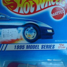 HOT WHEELS --MERCEDES 500 SL ++1799 DE LICITATII !! - Macheta auto Hot Wheels, 1:64