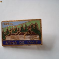 Insigna stana de vale hobby de colectie, Romania de la 1950
