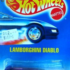 HOT WHEELS--LAMBORGHINI DIABLO ++1799 DE LICITATII !! - Macheta auto Hot Wheels, 1:64