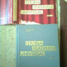 Istoria Teatrului Universal GHEORGHIU CUCU Vol 2 carte arta cultura teatru - Carte Istoria artei