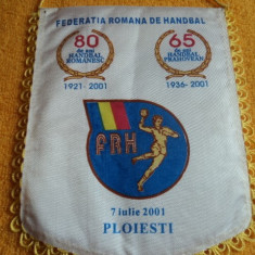 Fanion aniversar Federatia Romana de Handbal - Fanion handbal