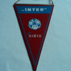 Fanion fotbal INTER Sibiu
