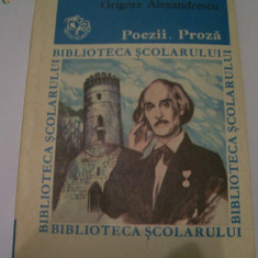 POEZII.PROZA GRIGORE ALEXANDRESCU