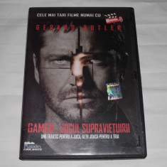 Vand dvd original cu filmul GAMER - Film actiune lionsgate, Romana