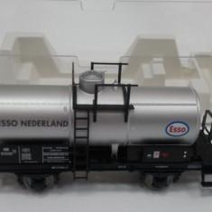 Vagon cisterna ESSO, Fleischmann, scara H0, cod 542605 - NOU - Macheta Feroviara Fleischmann, H0 - 1:87, Vagoane