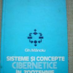 Sisteme si concepte cibernetice in zootehnie carte stiinta - Carti Zootehnie