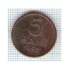 303 Moneda 5 BANI 1952 -starea care se vede -ceva mai buna decat scanarea - Moneda Romania