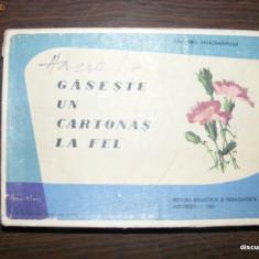 MDDV Joc VINTAGE GASESTE UN CARTONAS LA FEL anul 1965 de pe vremea lui Ceausescu