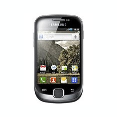 Vand samsung galaxy fit in stare foarte buna - Telefon mobil Samsung Galaxy Fit, Gri, Vodafone