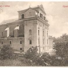 CPI (B447) GYULAFEHERVAR, ALBA IULIA, CIRCULATA 1912, STAMPILE, TIMBRU