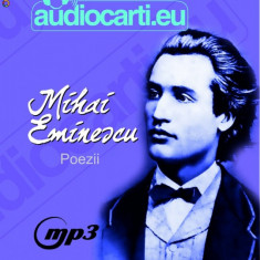 Mihai Eminescu - Poezii - 153 de poezii pe un cd audio MP3 - Audiobook