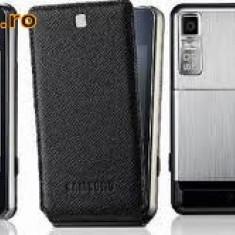 Telefon SAMSUNG F480, Negru, Smartphone