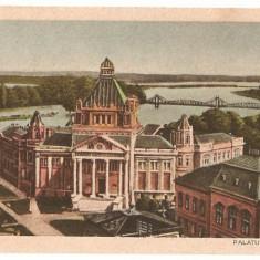 CPI (B437) ARAD, PALATUL CULTURAL EDITATA 1925, NECIRCULATA, - Carte Postala Crisana dupa 1918, Printata