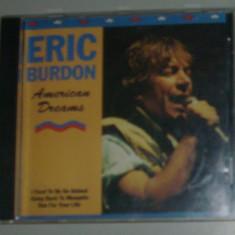 CD ROCK: ERIC BURDON - AMERICAN DREAMS - Muzica Rock