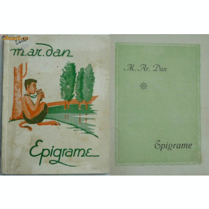 M.ar.dan , Epigrame , aparuta interbelic la Timisoara , editie de lux