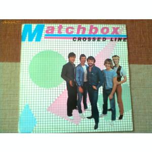 matchbox crossed line album disc vinyl lp muzica rock rockabilly yugoslavia 1983