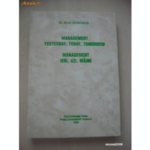 ERNO DOMOKOS - MANAGEMENT IERI, AZI, MAINE