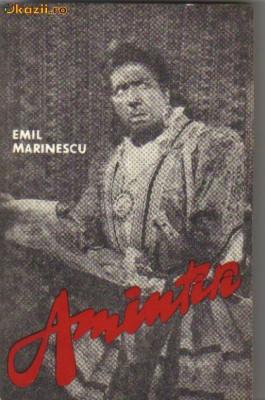 emil marinescu - amintiri foto