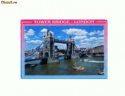 CP179-34 Tower Bridge, London (Londra)-circulata 1999 foto