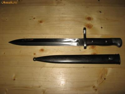 Baioneta solingen folosita in Chile din al doilea razboi mondial foto