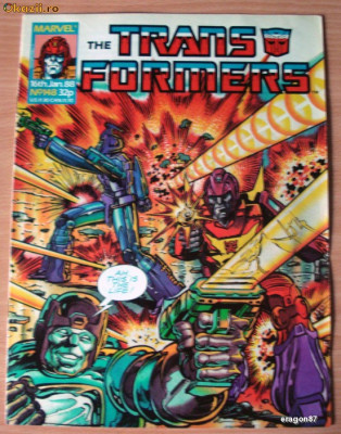 Transformers #148 Marvel Comics foto
