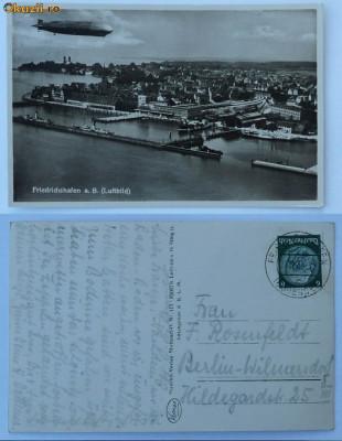 Zepellin , circulata , 1934 , stare excelenta foto
