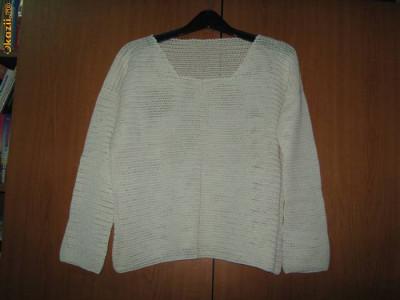 Bluza din macrame, crosetata manual, deosebita foto