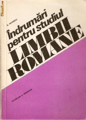 Indrumari ptr. studiul limbii romane foto