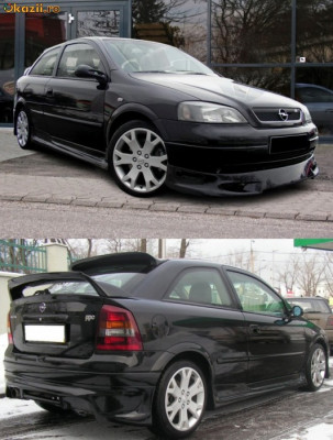 Body Kit Opel Astra G 'J-Style' foto