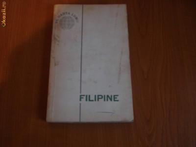 FILIPINE-PE HARTA LUMII foto