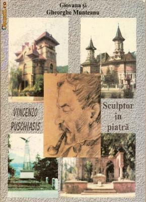 Vincenzo Puschiasis sculptor in piatra foto