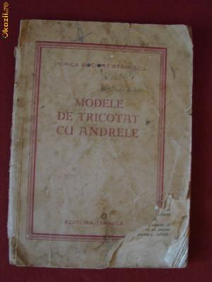 MODELE DE TRICOTAT CU ANDRELE foto