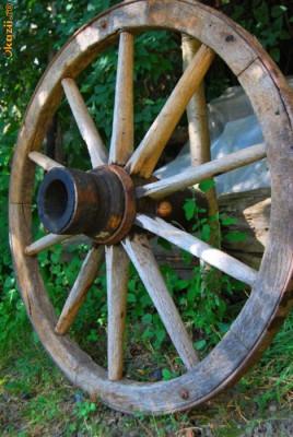 Roti de car rustice foto