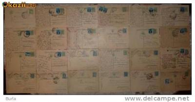 28 carti postale interbelice , din care 4 cu cenzuri din al doilea razboi mondial foto