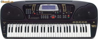 Orga (sintetizator) General music GEM WK1 arranger Keyboard foto