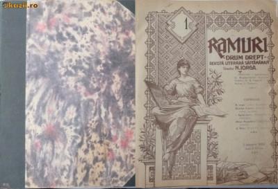 Revista Ramuri,1922,an complet in volum,48 numere foto
