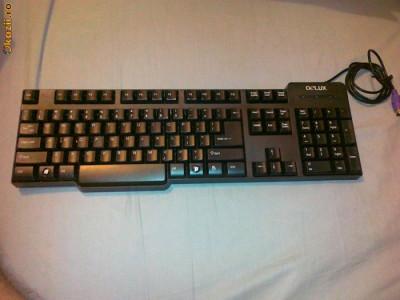 Tastatura Delux PS2 foto