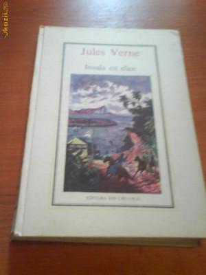 969 Jules Verne  Insula cu elice foto